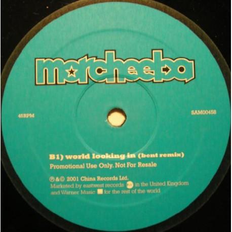 Morcheeba - World looking in (Bent Remix) / Love sweet love (Nextmen Remix / Nextmen's Bigfoot Dub) Promo