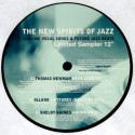 "New Spirits Of Jazz Sampler - Thomas Newman ""Dead already"" / Ollano ""Latitudes"" / Shelby Gaines ""Aquaworld"" / Avia ""All my jazz"""