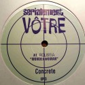 "Serialement Votre Sampler - Roussia ""Theme from Wonder woman""  / Charles Schillings ""Theme from Hawaii Five O"" (12"" Vinyl Promo)"