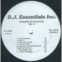 "Acappellas Anonymous Volume 4 - 14 Vocal Only cuts for DJs featuring Logic ""The warning"" / Da Slammin Phrogs ""Feel it"" / Chic ""C"