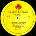 83 West DJ Tools - Volume 1 (Beats & Grooves) featuring Jon Cutlers groove / Remedy beats / Deep beats / Mornin beats / Tommy Mu
