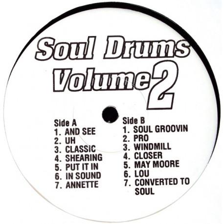 Soul Drums Volume 2 - 14 Breaks (Drums Only) for DJ use.