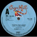 Funky 4 + 1 - Thats the joint (2 Mixes)