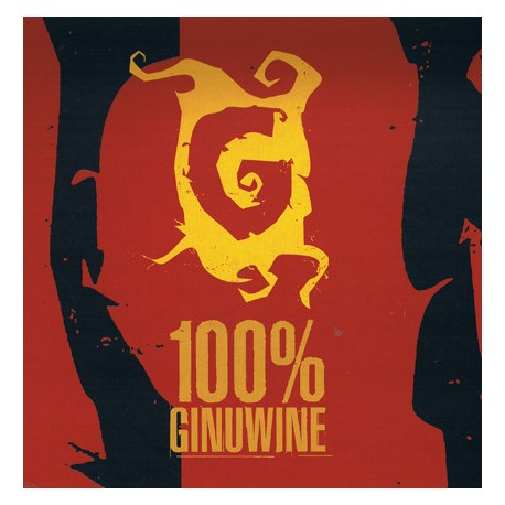 Ginuwine - 100% Ginuwine (Double LP) featuring Whats so different / So anxious / None of ur friends business / Wait a minute / I