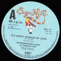Grandmaster Flash & The Furious Five - Its nasty (Genius of love) / The birthday party (Instrumental)