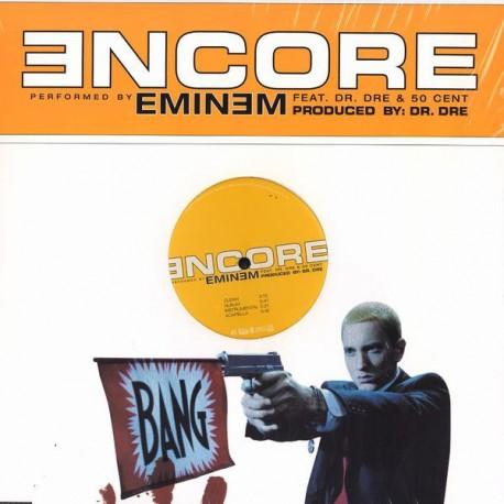 Eminem - Encore (LP Version / Clean Version / Instrumental / Acappella) Promo