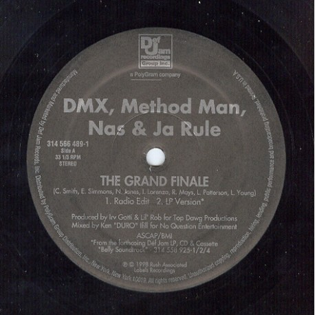 DMX, Method Man, Nas & Ja Rule - The grand finale (LP Version / Radio Edit / TV Track)