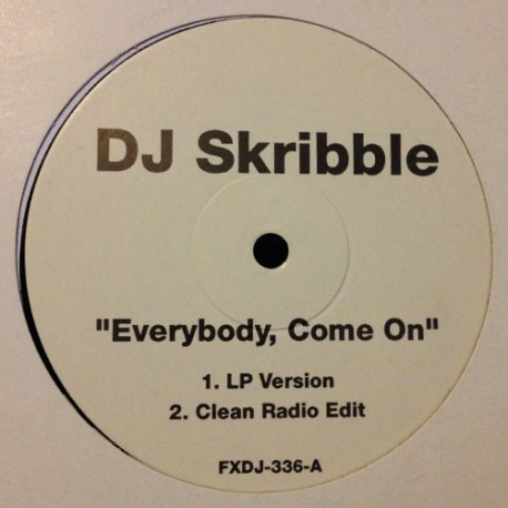 DJ Scribble - Everybody come on (LP Version / Clean Radio Edit / Instrumental) / Must be the music (by Big Punisher & Cuban Link