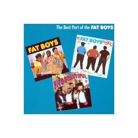 Fat Boys - The Best of the Fat Boys LP featuring Fat Boys / Human Beat Box / Stick em / In the house / Sex machine / Jailhouse r