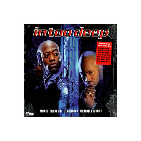 In Too Deep (Soundtrack) - 2 LP  featuring 15 tracks including Nas & Nature (In too deep) / Method Man & Redman (Tear it off) /
