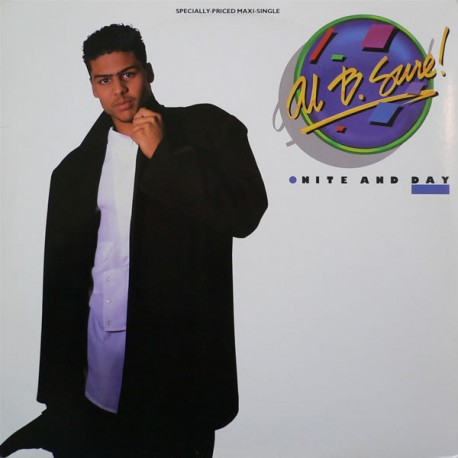 """Al B Sure - Nite and day (Dusk mix / Dawn mix / Edit) / Nuit et jour (Extended Version / Inst / Edit) 12"""" Vinyl Record"""