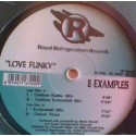 "2 Examples - Love funky (4 mixes) 12"" Vinyl Record"
