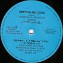 """Chas Jankel - Glad to know you (12"""" Remix) / Grace Jones - La vie en rose (Euro Townhouse Mix) 12"""" Vinyl Record"""