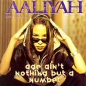 "Aaliyah - Age ain't nothing but a number (LP Version / Instrumental / Havok Remix / Linslee Remix) 12"" Vinyl Record"