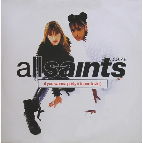 """All Saints - Lets get started (3 mixes) / If you wanna party (12"""" Vinyl Record)"""