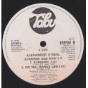 Alexander ONeal - 4 Track EP - Sunshine / Do you wanna like I do / Crying overtime / A broken heart can mend (EP Vinyl Record)