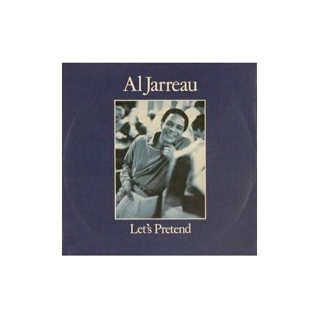 """Al Jarreau - Lets pretend (M&M Dance mix / Live Version) / I keep callin (12"""" Vinyl Record)"""