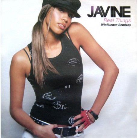 Javine - Real things (Radio mix / D Influence Summer Groove mix / D Influence Lazy Dayz mix / Acappella) Promo
