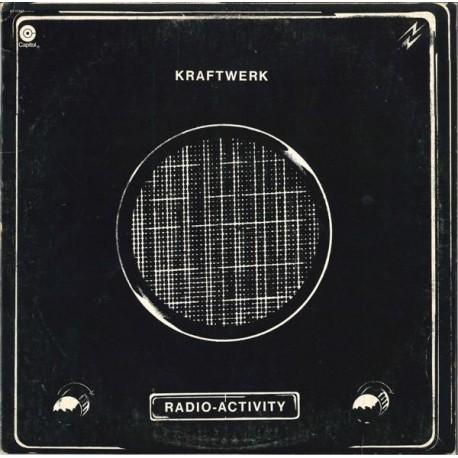 Kraftwerk - Radioactivity LP featuring Geiger counter / Radioactivity / Radioland / Airwaves / Intermission / News / The voice o