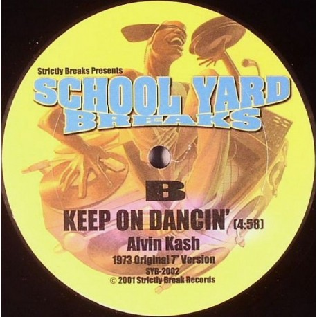 Alvin Kash / John Davis Orchestra - Keep on dancin / I cant stop (12inch Version)