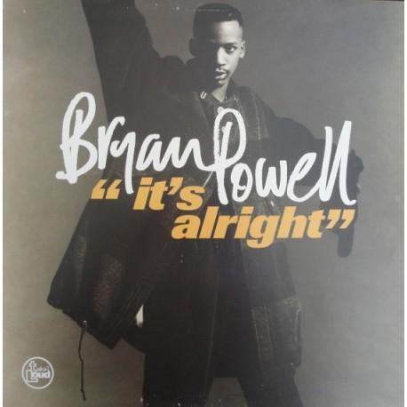 Bryan Powell - Its alright (LP Version / Hip Hop mix) / I commit (Full  Length Version / Instrumental)
