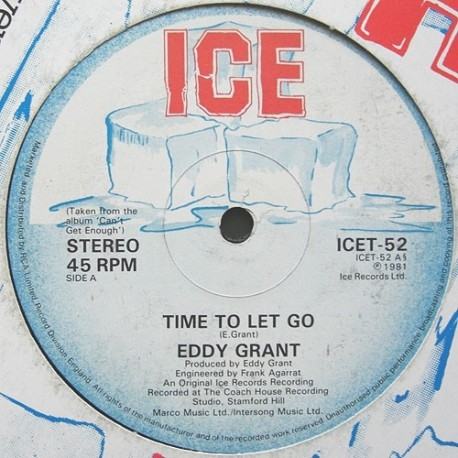 Eddy Grant - California style / Time to let go
