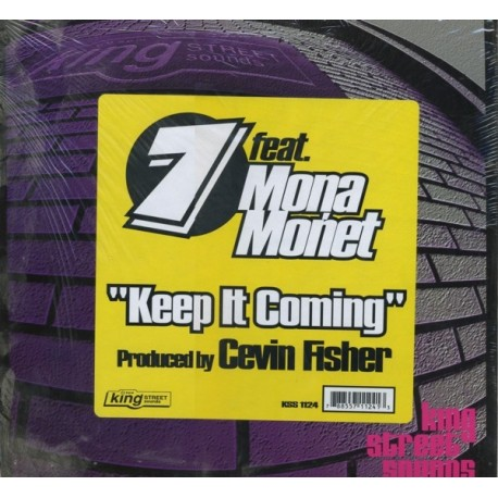 7 Featuring Mona Monet - Keep it coming (Cevin Fishers Queen Street Orchestra mix / Cevin Fishers Keep On Moaning mix)