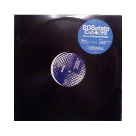 808 State - Cubik 98 (Victor Calderone Remix / 98 Mix Edit) / Pacific 808 (98 Remix) / Cubik (88 Original Edit) / Azura (5.30 mi