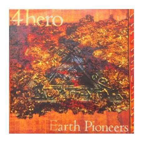 4 Hero - Earth Pioneers LP sampler featuring Hals Children / 20-30 Grand River / Planetaria / Dauntless / Loveless (2 mixes) dou