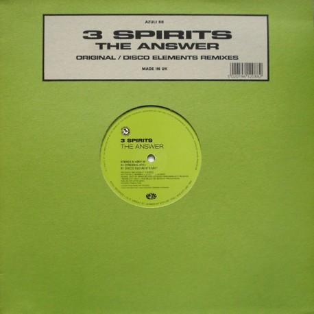 3 Spirits - The answer (Disco Elements mix / Original mix)