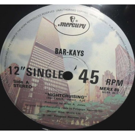 Barkays - Nightcruising (Full Length Version) / Hit and run (Full Length Version)