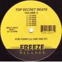 """Trey Max Presents Top Secret Beats - Volume 4 (12 funky loops for dj use) Vinyl 12"""""""